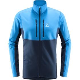 Haglöfs Roc Sheer Mid Jacket Men, niebieski